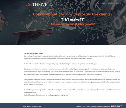 Thrive11 Project