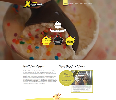 Xtreme Frozen Yogurt Project