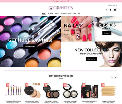 Jncosmetics Project